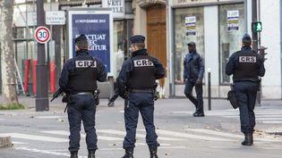 Des CRS à Paris. (Photo d'illustration) (NICOLAS KOVARIK / MAXPPP)