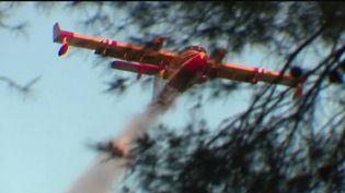 Une centaine de pompiers des Bouches-du-Rhône sont toujours mobilisés dans la soirée du mercredi 7 avril, à Auriol, où un incendie a ravagé plus de 90 hectares en 24 heures. Le feu s'est stabilisé ce matin, mais la zone reste sous surveillance. (France 2)