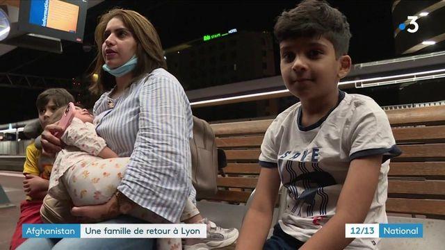 Afghanistan : une famille enfin de retour à Lyon