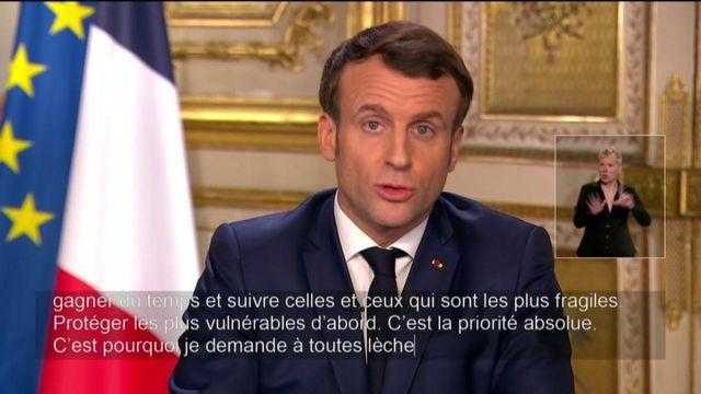 Coronavirus : Emmanuel Macron demande aux personnes de plus de 70 ans de rester chez elles