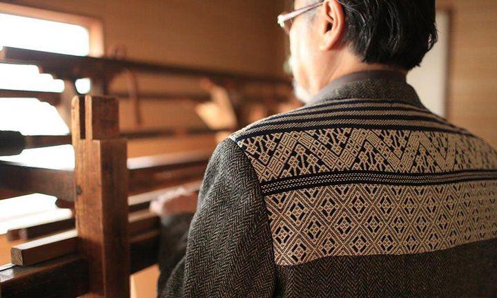 La veste brodée par KOGIN zashi  (DR)