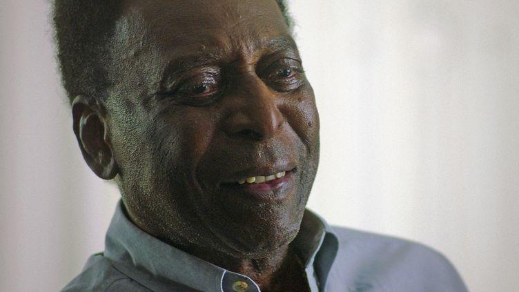 Pelé lors d'une interview en janvier 2021. (- / NETFLIX)