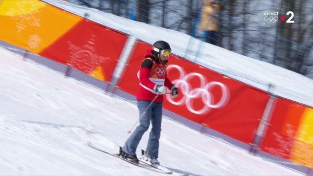 Le passage d'Elizabeth Swaney en ski halfpipe