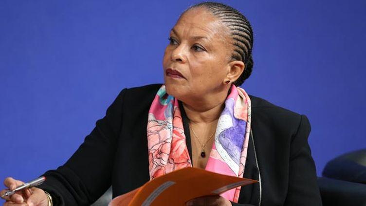 (Christiane Taubira sort un livre ce lundi pour argumenter son opposition à la déchéance de nationalité © MaxPPP)
