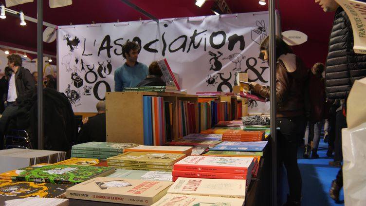 Stand de L'association, Angoulême 2017  (Laurence Houot / Culturebox)