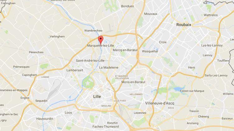Marquette-lez-Lille (Nord). (GOOGLE MAPS)