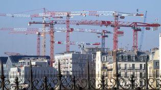 Illustration de construction de bâtiments. (BRUNO LEVESQUE / MAXPPP)