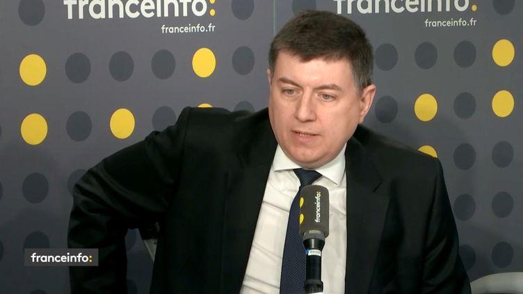 Jean-Paul Megret,secrétaire national du Syndicat indépendant des commissaires de police (SICP), sur franceinfo. (FRANCEINFO)