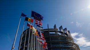 Le Parlement européen à Strasbourg, le 18 septembre 2019. (PHILIPP VON DITFURTH / DPA / AFP)