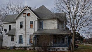 Une maison de Warren à l'abandon, le 13 janvier 2017. (MARIE-ADELAIDE SCIGACZ / FRANCEINFO)