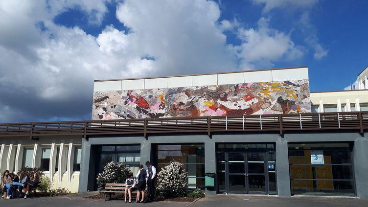 Le lycée Vauban d'Aire-sur-la-Lys dans le Pas de Calais est mis à l'honneur dans les IVAL 2018 - indicateurs sur la valeur ajoutée des lycées. (ALEXIS MOREL / FRANCE-INFO)