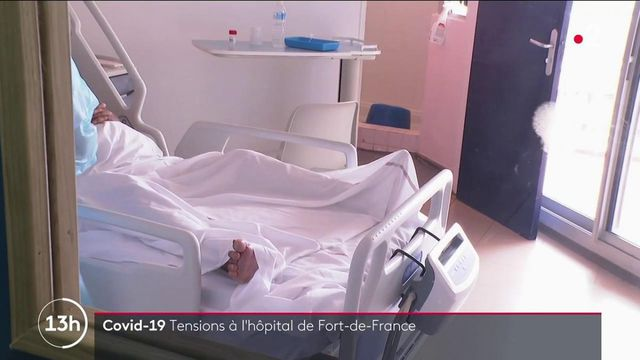 Covid-19 : l'hôpital de Fort-de-France sous tension