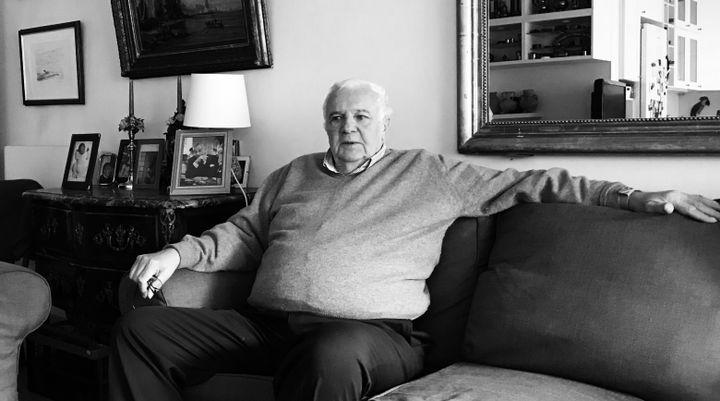 Jean-Guy de Chalvron, ancien contrôleur de la CNCCFP. (SYLVAIN TRONCHET / RADIO FRANCE)