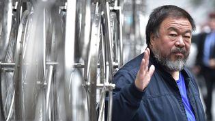 Ai Weiwei, à Londres, en septembre 2015  (LEON NEAL / AFP)