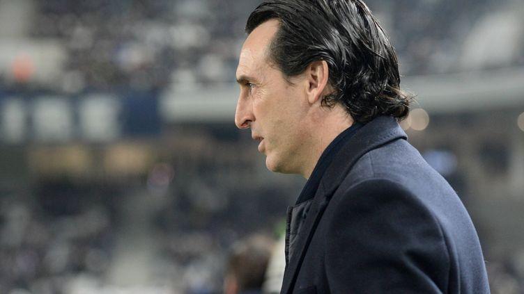 Le coach du PSG Unai Emery