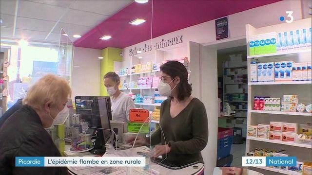 Picardie : l'épidémie de Covid-19 frappe certains territoires ruraux
