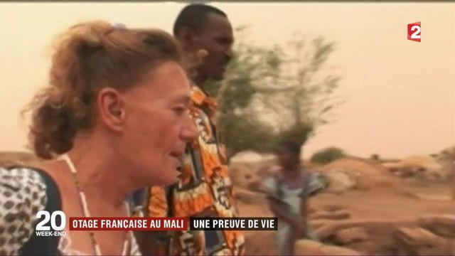 Mali : preuve de vie d'une otage française