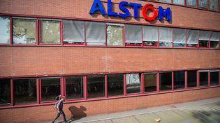 L'usine Alstom de Belfort, le 12 septembre 2016. (SEBASTIEN BOZON / AFP)