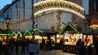Lemarché de Noël de Fribourg en Allemagne en 2019 (JEAN-LUC FLEMAL / MAXPPP)