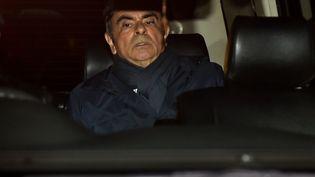 Carlos Ghosn le 3 avril 2019 à Tokyo. (KAZUHIRO NOGI / AFP)