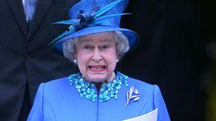 Après 60 ans de règne, la reine Elisabeth II n'envisage pas d'abdiquer. (AFP)