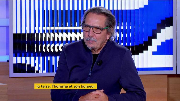 Le philosophe Glenn Albrecht (FRANCEINFO)