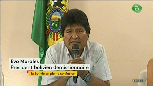 La Bolivie en pleine confusion