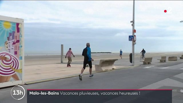 Tourisme : à Malo-les-Bains, vacances pluvieuses, vacances heureuses