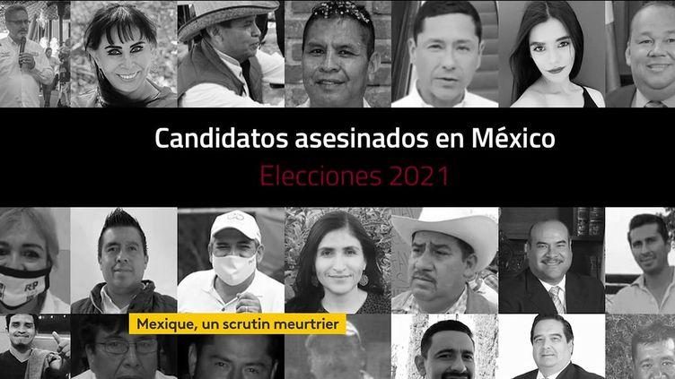 Des candidats aux élections assassinés au Mexique (FRANCEINFO)