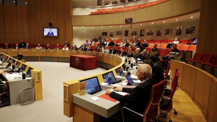 Une réunion du Conseil national de Monaco, en avril 2019. (MAXPPP)