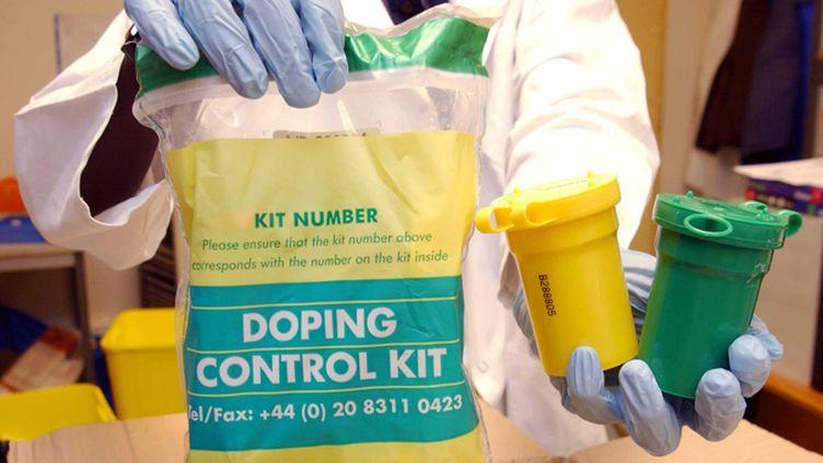 Les prélèvements d'urine arrivent scellés au laboratoire antidopage