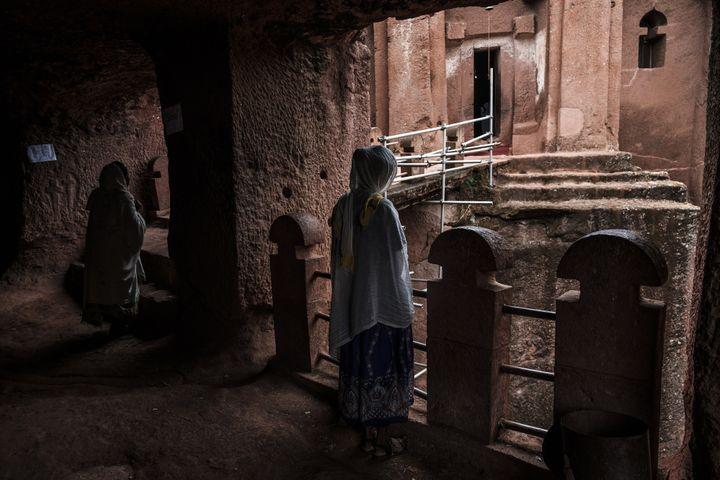 Les églises souterraines.  (EDUARDO SOTERAS / AFP)