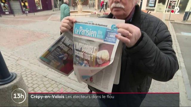 Municipales : Crépy-en-Valois, les électeurs dans le flou