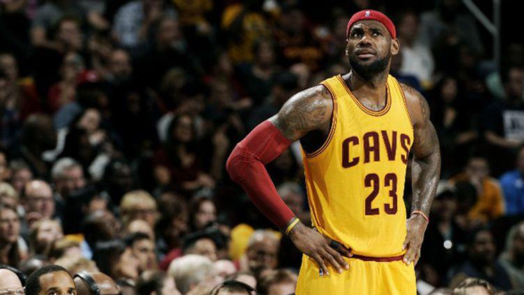 LeBron James (Cleveland Cavaliers) (DAVID LIAM KYLE / NBAE / GETTY IMAGES)