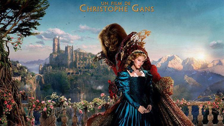 """Vincent Cassel et Léa Seydoux dans """"La Bèle et la bête"""" de Christophe Gans. (Copyright Pathé Distribution)"""