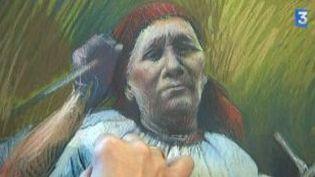 Laura Szabo, retour aux origines tziganes par la peinture et le chant  (Culturebox)