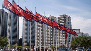 La capitale de Corée du Nord,Pyongyang, le 8 juillet 2019. (KIM WON JIN / AFP)