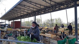 """L'Association des petites villes de France dénoncent """"des petits arrangements"""" avec la législation sur l'ouverture des marchés en période de confinement. (ANNE OGER / FRANCE-BLEU ORLÉANS)"""