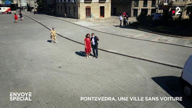 Envoyé spécial. Pontevedra, une ville sans voiture