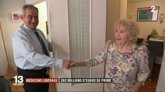 Médecins libéraux : une prime de 282 millions d'euros
