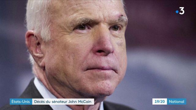États-Unis : le sénateur John McCain est décédé