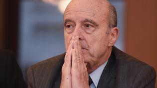 Alain Juppé, en février 2017 à Bordeaux (NICOLAS TUCAT / AFP)