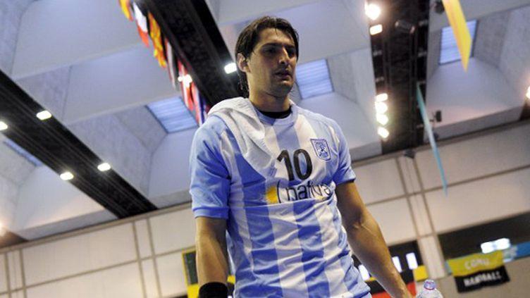 L'Argentin du club d'Istres, Federico Vieyra