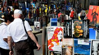 """Les affiches du """"Off"""" de 2013 à Avignon  (PHOTOPQR/LA PROVENCE/HIELY)"""