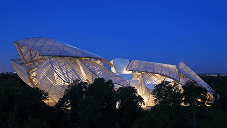 """La merveille architecturale de Frank Gehry ouvre ses portes gratuitement aux visiteurs samedi soir à l'occasion de la """"Nuit européenne des musées""""  (Fondation Louis Vuitton / Louis-Marie Dauzat)"""