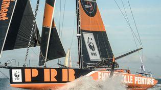 PRB est l'un des sponsors du Vendée Globe. (JEAN-FRANCOIS MONIER / AFP)