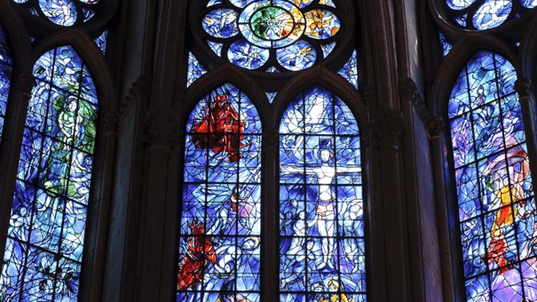 Vitraux de Marc Chagall - Cathédrale de Reims  (CHRISTOPHE LEPETIT. )