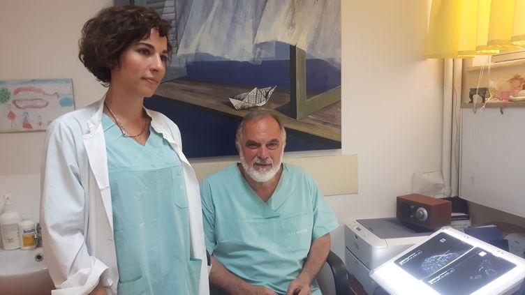 Les médecins de l'hôpital Agios Savas d'Athènes dénoncent le manque de moyens (ISABELLE RAYMOND / RADIO FRANCE)