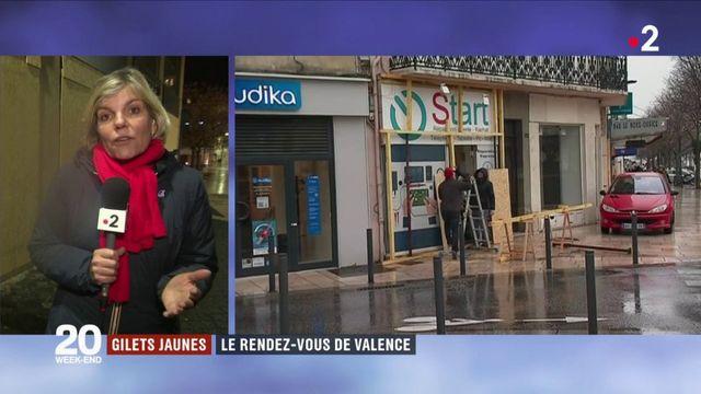 """""""Gilets jaunes"""" : Valence se prépare aux 10 000 manifestants attendus"""