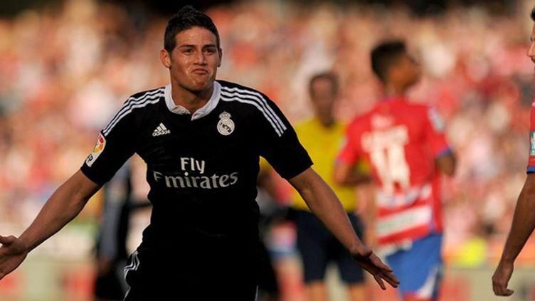 James Rodriguez (Real Madrid) (JORGE GUERRERO / AFP)